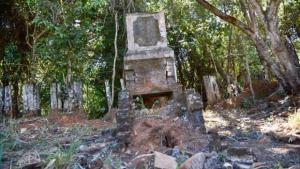 Caiado quer recuperar ruínas do antigo Arraial de Ouro Fino