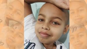 Família goiana busca ajuda para tratamento de criança contra leucemia