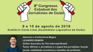 Com presença de editor do The Intercept, Congresso dos Jornalistas discute papel da imprensa