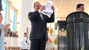 Jânio Darrot institui Ano do Centenário de Trindade durante celebrações