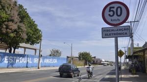 Radares na Avenida Independência, em Aparecida, fiscalizam velocidade a partir desta quarta, 11