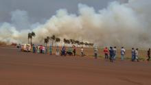 Caiado pedirá audiência com ministro para resolver problema de incêndios no Sudoeste goiano