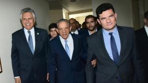 """Em Goiânia, Moro faz primeira visita técnica ao programa de segurança """"Em Frente, Brasil"""""""