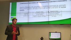 Com 127 casos suspeitos em Goiás, Campanha Nacional de Vacinação contra o Sarampo começa segunda