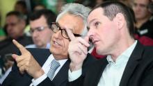 Em coletiva, Caiado anuncia retirada de alíquota extraordinária da PEC da Previdência