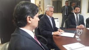 """""""O sucesso do Governo é meu sucesso"""", diz Alexandre Baldy na posse do irmão à frente da Secretaria de Cultura"""