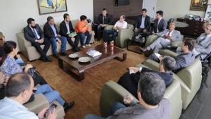 Lissauer recebe representantes de servidores e promete busca por consenso na Previdência