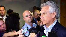 Caiado busca apoio de bancada federal para destravar Plano Mansueto