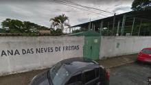 Sala modular de escola municipal explode e deixa trabalhador ferido em Goiânia