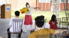 Repatriados da Base Aérea de Anápolis participam de atividades culturais