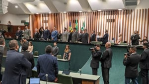 Caiado afirma que saúde pública será foco de sua gestão neste ano