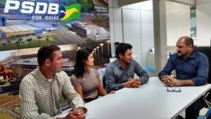 Marcos da Verdura é definido pré-candidato a prefeito de Baliza pelo PSDB