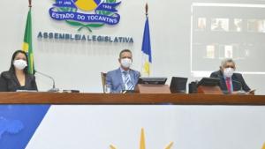"""Assembleia implanta sessões remotas e aprova """"Estado de Calamidade"""""""