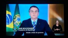 Bolsonaro cita diretor da OMS e modula discurso