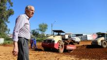 Iris Rezende vistoria obras em Goiânia e garante entrega da Leste-Oeste este ano