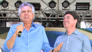 Ronaldo Caiado pressionou mas Wilder Morais mostrou tutano e não afinou para o senador