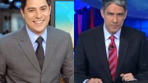 Evaristo Costa é cotado para substituir William Bonner no comando do Jornal Nacional