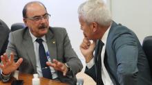 Deputado Zacharias Calil discute coronavírus no Ministério da Saúde
