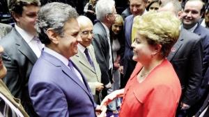 Pesquisa revela empate técnico entre Dilma e Aécio no segundo turno