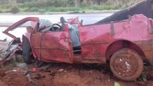 Acidente em Uruaçu deixa uma pessoa morta e três gravemente feridas