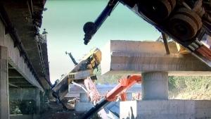 Operário morre durante construção de uma ponte nas obras de duplicação da GO-020