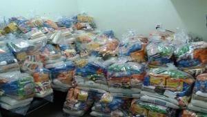 Hospital de Urgências de Aparecida de Goiânia arrecada mais de 6 toneladas de alimentos para doação