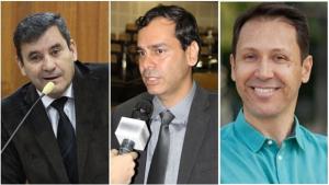 Clécio Alves, Andrey Azeredo ou Wellington Peixoto: 1 deles pode ser o próximo vice-prefeito de Goiânia