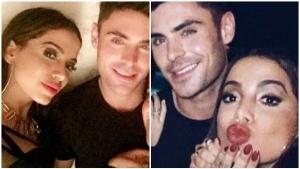 Anitta e Zac Efron são flagrados aos beijos, diz jornal