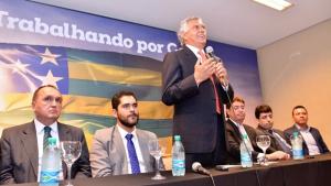 Caiado diz que escolheu secretários que têm conexão com o Governo Federal