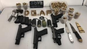 Agentes penitenciários encontram granada durante vistoria na POG