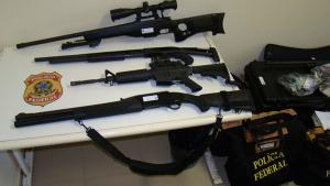 Policiais poderão usar armas apreendidas com criminosos