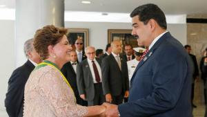 Maduro quer ampliar relações com Brasil e pede respeito aos Estados Unidos