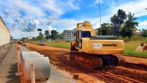 Obras na Brasil Norte vão acabar com transtornos causados pela chuva em Anápolis