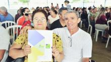 Governo quer alcançar 14 mil escrituras entregues até o final de 2022