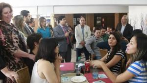 Buonaduce se reúne com advogados em almoço