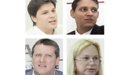 Os sete superfavoritos para deputado federal. PMDB e PSDB têm dois nomes na lista