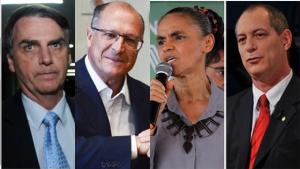 Ibope mostra Bolsonaro com 26%, Ciro com 11% e Marina com 9% das intenções de voto