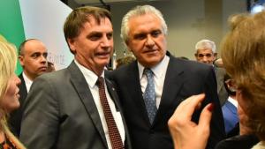 Em encontro com Bolsonaro, Caiado discute situação fiscal de Goiás