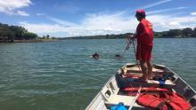 Bombeiros localizam corpo de garoto que se afogou no Lago Formosa, em Planaltina