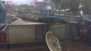 Vítimas do acidente no Parque Mutirama deixam UTI