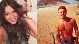 Após boatos sobre relacionamento com Luan Santana, Bruna Marquezine é flagrada com rapaz em festa