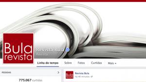 Revista Bula, primeira página goiana autenticada pelo Facebook