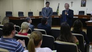 Buonaduce visita Tribunal de Contas dos Municípios de Goiás