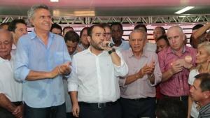 Ronaldo Caiado afirma que se empenhará para que Vanderlan apoie Iris Rezende