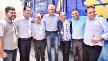 Com agenda movimentada em Anápolis, Caiado e Roberto Naves demonstram maior entrosamento