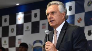Caiado quer núcleo com forças policiais, Receita Federal, Sefaz para combate à corrupção