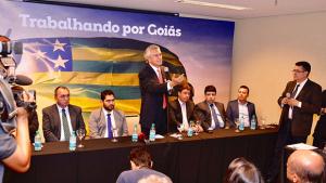 """""""Não vou inviabilizar setores que prestem serviços essenciais"""", diz Caiado sobre comissionados"""
