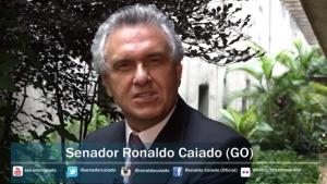"""Caiado confirma participação em protestos de domingo: """"Estamos indignados"""""""