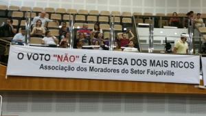 Moradores de Goiânia desmascaram Fórum Empresarial na Câmara