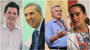 Confira as agendas dos candidatos ao governo de Goiás para esta sexta-feira (17)